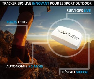 Capturs : Le tracker GPS live pour sport outdoor