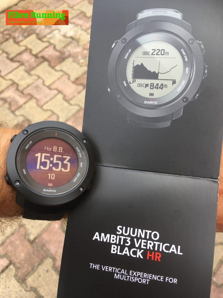 trail montre SUUNTO test