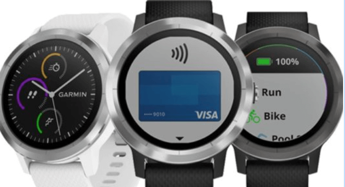 Garmin GPS, GARMIN Running Trail et maintenant GARMIN PAY banking