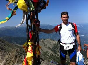 Mon premier Trail : trail du canigou 34km D+2180 et D-2180 (aout2013)