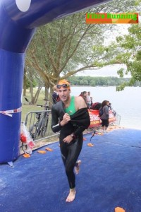 natation au half beauvais triathlon