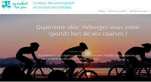 my weekend for you plateforme d'hébergement