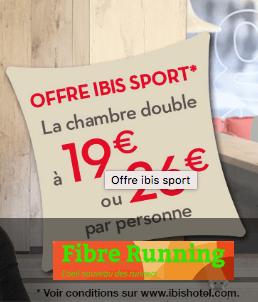 Bons Plans Running Hébergement ibis sport