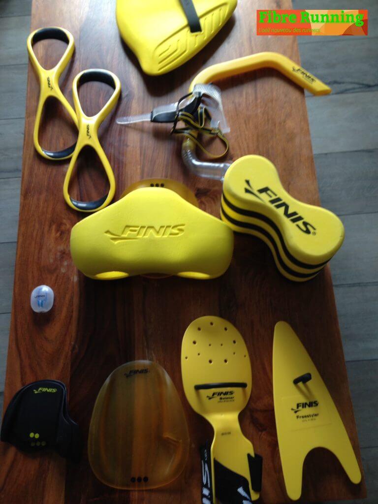 Voici un testmatériels natation swim avec la marque Finis by fibre-running