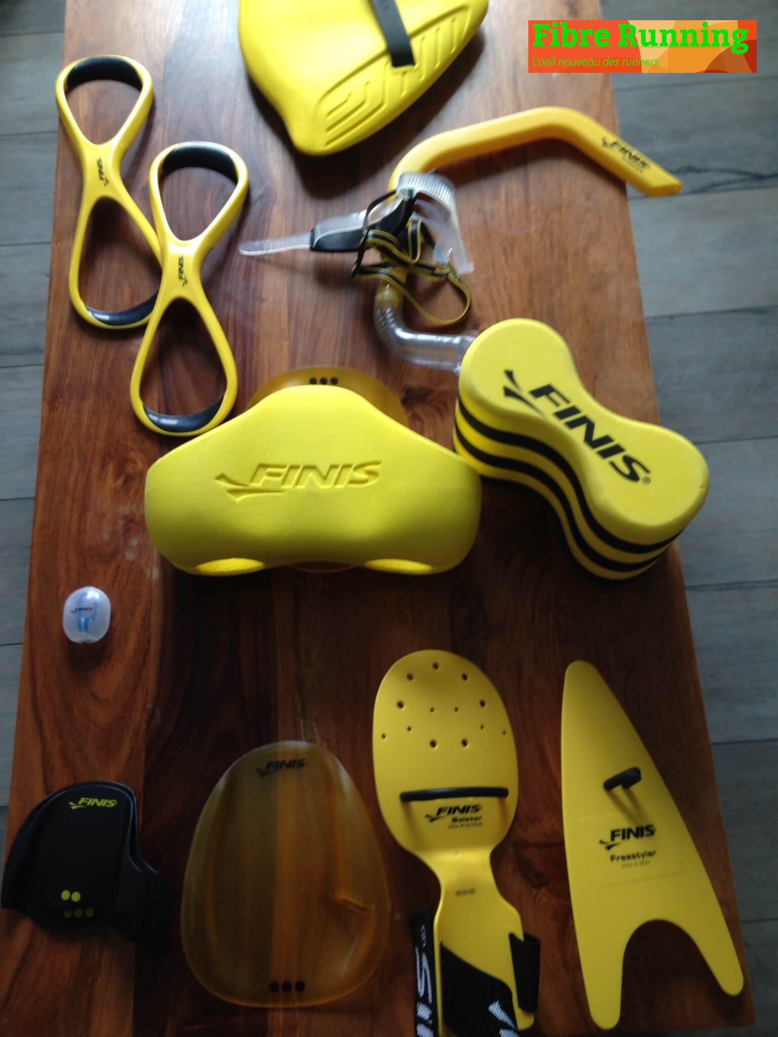 Test matériels natation swim Finis