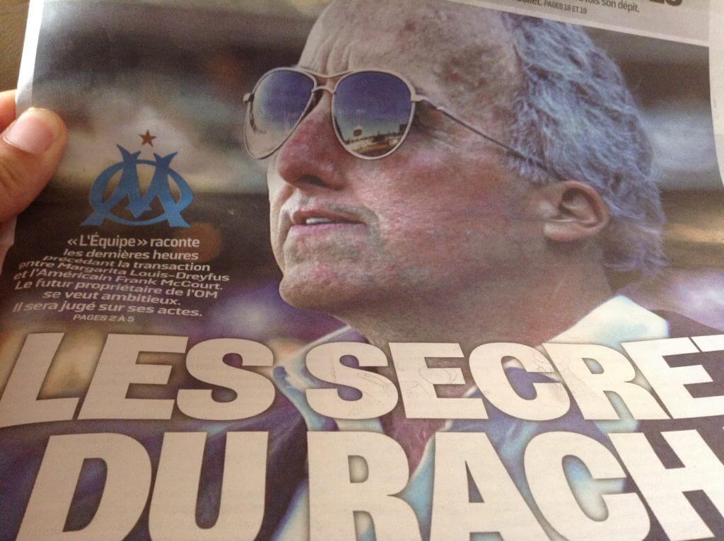 Frank McCourt propriétaire du marathon de Boston rachète l'OM