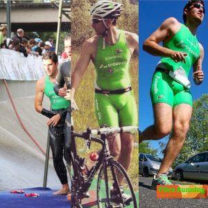 pierre fibre triathlon en transition vélo: Fibre-triathlon triple effort fibre carbone fibre triathlon bike
