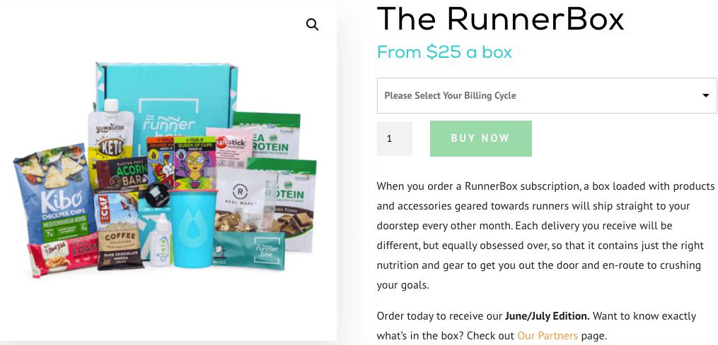 running box ou run pack pour sportifs en manque de temps