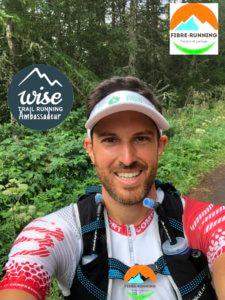 Pierre Ambassadeur de Wise Trail Running