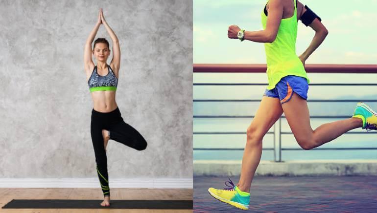 yoga vs courir