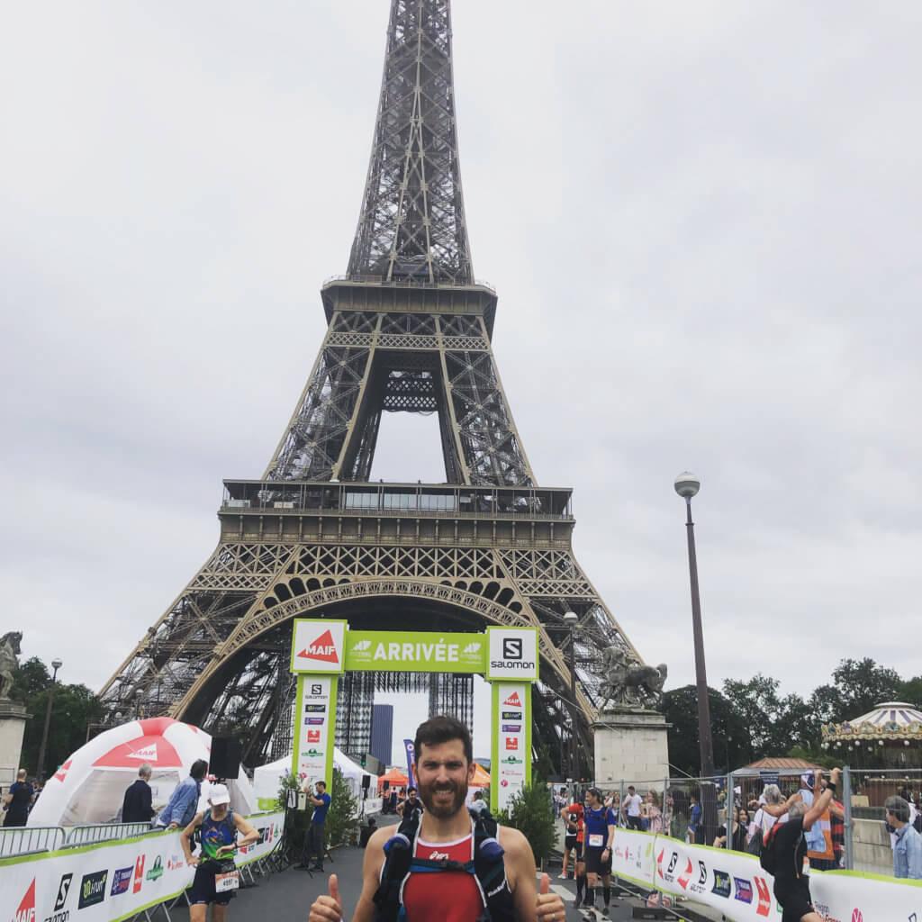 Pierre de Fibre Running, Finisher écotrail paris 2021 sur le 45km